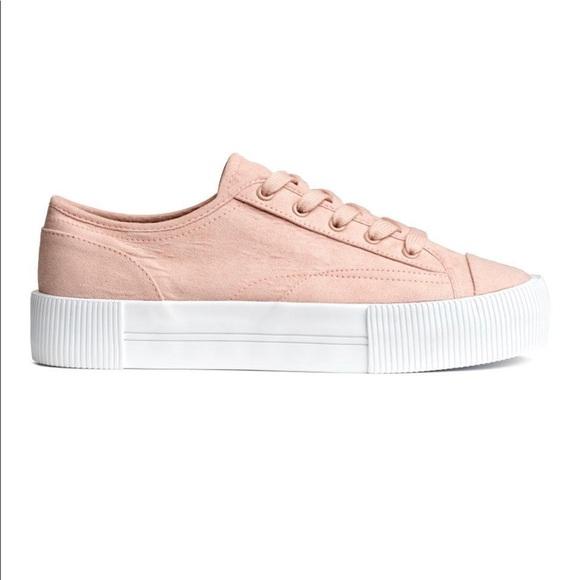 H\u0026M Shoes | Hm Platform Sneakers | Poshmark